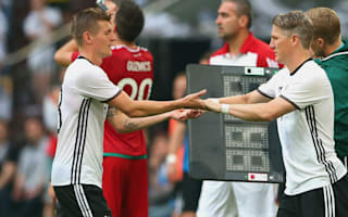 Kroos: Germany will cope without Schweinsteiger and Podolski