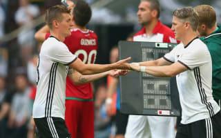 Kroos: Germany will cope without Schweinsteiger and Podolski
