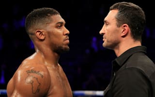 Klitschko is the step up people have wanted - Joshua