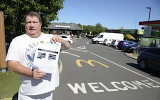 Grandad fined for staying too long at McDonald's - despite spending less than 30 minutes there