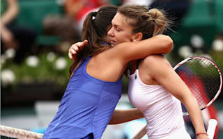 Halep marches on in Paris, Radwanska routed by Cornet