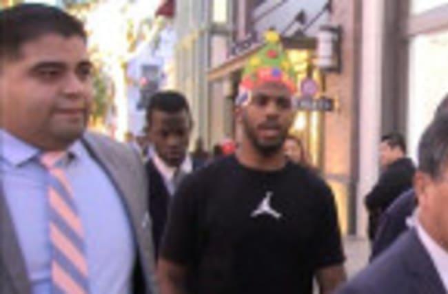 Chris Paul Tells Kobe Bryant to 'Keep Going Til You Have a Boy!'   TMZ Sports
