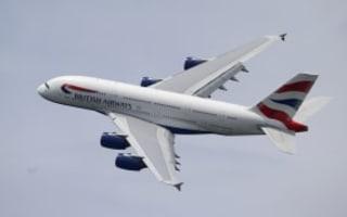 'No spare BA plane for England'