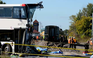 At least six dead as passenger train crashes into bus in Ottawa