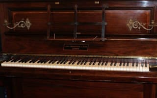 Did this gold-stuffed piano once belong to you?