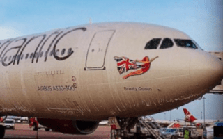 Inaugural flight from Manchester to Atlanta grounded after plane sprayed with foam