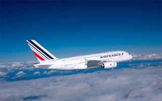 Air France passengers can finish watching in-flight films after disembarking