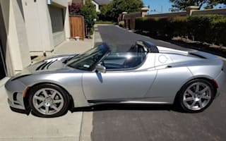 Rare Tesla Roadster prototype for sale on eBay