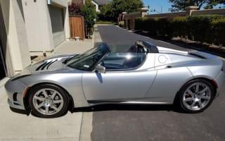 Rare Tesla Roadster prototype for sale on eBay