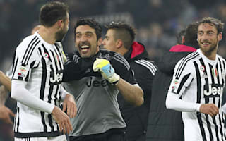 Buffon hails Juventus' defensive strength