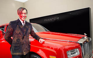 First of 30 specially-commissioned Rolls-Royces is delivered