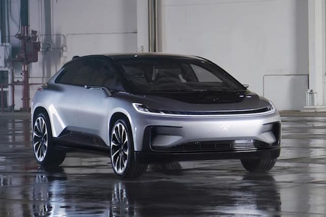 Faraday Future reveals high-tech autonomous car
