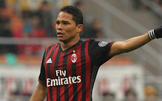 Bacca after Montella spat: I was wrong, I will pay for dinner