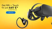 Las Oculus Rift bajan su precio con una oferta de verano