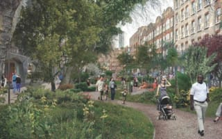 Central London to get first new park in 100 years