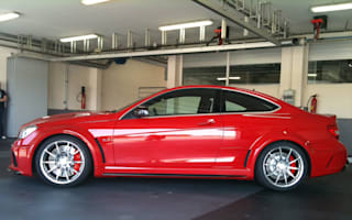 Mercedes C63 AMG Black Series pics leak ahead of launch