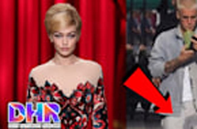Justin Bieber RESPONDS to Pee Stain, Gigi Hadid Stumbles on Moschino Runway!