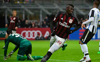 AC Milan 1 Udinese 1: Three in a row for Niang but Rossoneri's winning streak ends