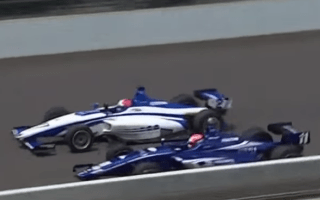IndyCar event sees close photo-finish between rivals