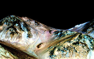 Seasonal feature changes on Mars 'a result of water activity'