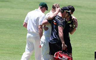 Voges concussed after suffering helmet blow
