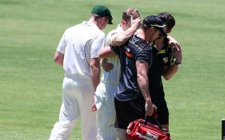 Voges concussed after suffering helmet blow