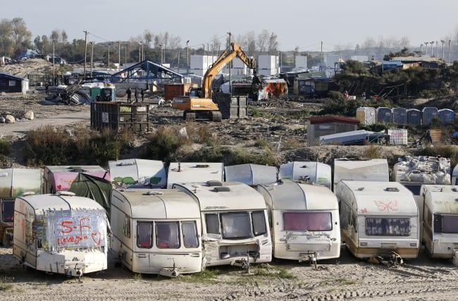 """Calais: Gérard Collomb ne veut pas """"de nouvelle jungle"""""""