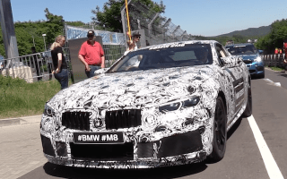 Watch the all-new BMW M8 roar into life