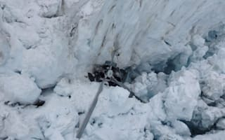 Four British tourists among seven killed as helicopter crashes into New Zealand glacier