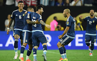 United States 0 Argentina 4: Last year's finalists reach decider as Messi makes history