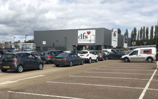 Retail park shoppers fined £100 after being trapped in car park gridlock