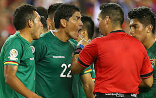 Bolivia coach Baldivieso slams 'disgraceful' penalty decision