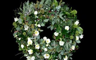 The world's most expensive Christmas wreath worth £2.8m