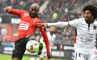 Nice drop points despite comeback as Plea injured at Rennes