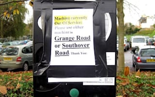 Things that go bang in the night: Vandals blow up parking meters in Lewes