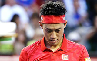 Injury ends home hope Nishikori's Japan Open