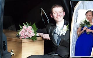 17-year-old arrives at school prom in a coffin