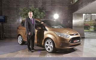 First production Ford B-MAX previewed