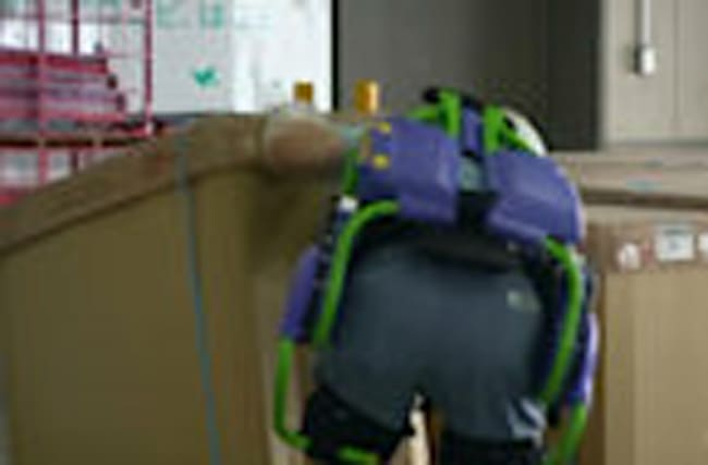 Harness helps elderly lift heavy loads