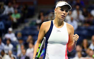 Wozniacki crushes hurting Sevastova