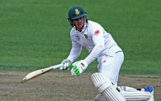 De Kock earns praise for gutsy display