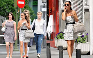 Pippa Middleton parties in Madrid