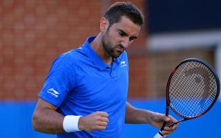 Edmund shocks Simon, Cilic into Queen's quarter-finals
