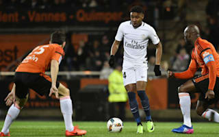 Lorient 1 Paris Saint-Germain 2: Champions bounce back from Barcelona nightmare