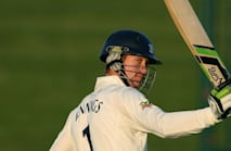 Power cut robs Jennings' dad of witnessing century shot