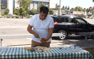 Pizza left in a hot car cooks in just 30 minutes