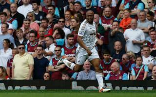 West Ham 1 Swansea City 4: Buoyant Swans check Hammers' momentum