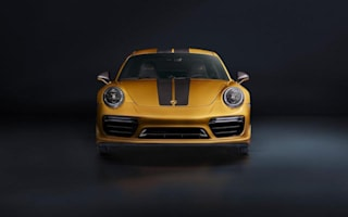 Porsche unveils new limited run 911 Turbo S Exclusive Series