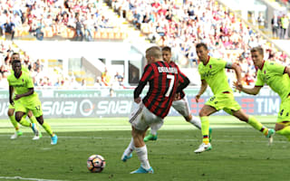 AC Milan 3 Bologna 0: Deulofeu, Honda and late Lapadula goals clinch Europa League spot
