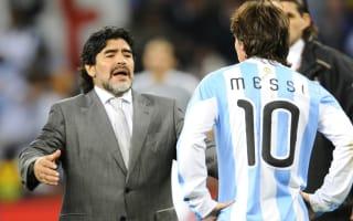 Zanetti: No need to compare Maradona and Messi